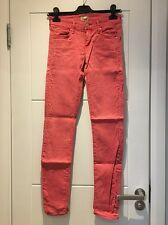 Mother Stretch Jeans Pop! Pink Salmon The Looker 25 New NWOT