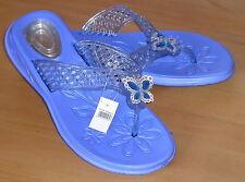 Damen-Sandalen & -Badeschuhe für den Strand-Zehentrenner ohne Muster