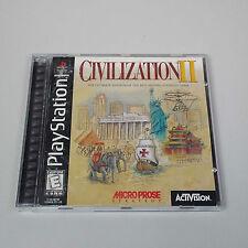 Civilization II (Sony PlayStation 1, 1998) R1800