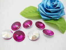 200 Diamond Confetti 18mm Wedding Party Table Scatter - Fushia