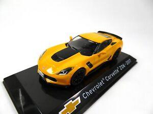 Chevrolet Corvette Z06 2017 - 1/43 Voiture IXO Supercars Edition Italienne S53