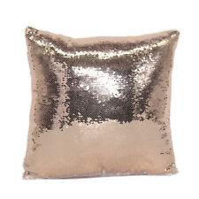 Purchase Quota 1pc Champagne Reversible Sequin Sublimation Blank Pillowcase DIY