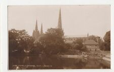 Lichfield Cathedral South, Judges 17209 Postcard, A945