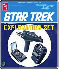 AMT TV STAR TREK Exploration Set Phaser, Tricorder, Communicator model kit 1/2