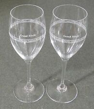 2 Laurent Perrier Grand Siecle Crystal Champagne Flutes EUC