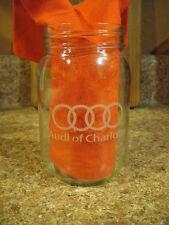 AUDI of CHARLOTTE ~ Oktoberfest Glass Mason Jar ~ Craft Brew K