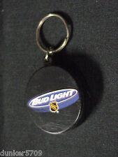 ANHEUSER BUSCH BUD LIGHT NHL BOTTLE OPENER KEY RING NEVER USED