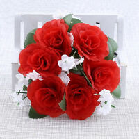 HOT! Candle Rings Handmade Rose Flower  Wedding Tabletop Centerpieces Unity Gift