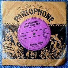 "CHARLIE DRAKE-MY BOOMARANG WON'T COME BACK/SHE'S MY GIRL ""RARE OZ"" 45 RPM  7"""