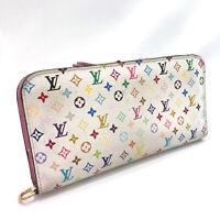 LOUIS VUITTON purse M93751 Portefeiulle unsolit Monogram multicolor Women