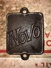 Novo Hit Miss Stationary Engine Name Cover Plate