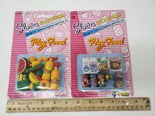 Gloria Doll House Furniture/ (9502-1, 9502-2) Play Food Set
