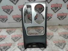 14-17 Grand Cherokee SRT 8 OEM Center Console Floor Shifter Bezel Silver Leather