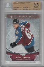 BGS 9.5 Gem Mint PAUL STASTNY 2006/07 Upper Deck OVATION Rookie Card
