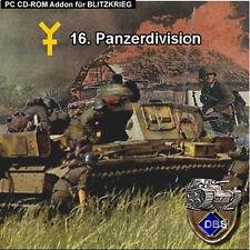 Blitzkrieg Addon 16. División Panzer