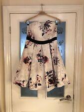 Ladies Clothes Size 12 Little Mistress Cute Strapless Mini Dress New (291)