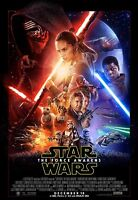 NEW STAR WARS Episode VII Movie THE FORCE AWAKENS 24x36 inch POSTER 005