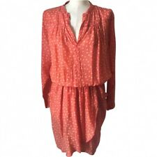 Rabens Saloner Red Spot Silky Dress M BNWT