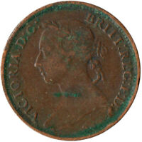 1894 ONE FARTHING OF QUEEN VICTORIA / VERY NICE COLLECTIBLE COIN #WT2388
