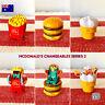 McDonald's Changeables Series 2   McRobots   McDonald's Collectables   AU STOCK