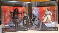 "Star Wars The Black Series 6"" Rey Starkiller Base & Kylo Ren Starkiller Base Set"