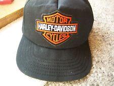 HARLEY DAVIDSON MOTORCYCLE HAT U.S.A. MADE