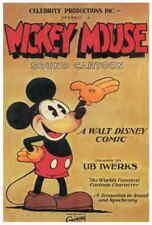 Walt Disney's Mickey Mouse (1930) Style-B Vintage 30s Cartoon Movie Poster 27x40