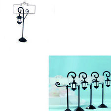 Vintage Streetlight Table Marker Holder Clips Party Wedding Name Place Card Dk