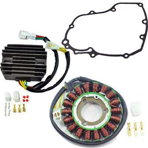 Stator + Voltage Regulator + Gasket Kit For Suzuki GSXR 600 750 2006-2009