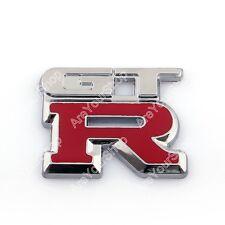 3D Emblem Badge Sticker Decal ABS Plastic GTR For GTR 240SX 350Z G35 G37 BS1
