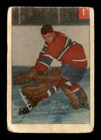 1954 Parkhurst #1 Gerry McNeil ! F X1686459