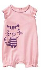 Gymboree Newborn Essentials Baby Girls Pink Tiger Romper Outfit Nwt 12-18 M