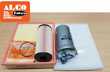 SERVICE KIT for VW Passat 1.9 TDI 3B Oil Air Fuel Cabin Filters 2002-05 ALCO