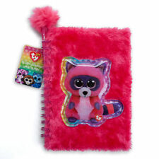 Ty Beanie Boos Pink Roxie Plush Journal with Pen - FREE SHIPPING