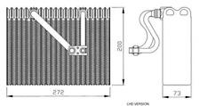 NRF (36088) Verdampfer, Klimaanlage für OPEL