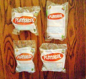2003-2005--PLAYSKOOL Hasbro (4-Toys) by Wendy's [NIP]