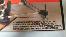 CRAFTSMAN HEAVY DUTY ROUTER PANTOGRAPH MODEL 925187 WITH BOX