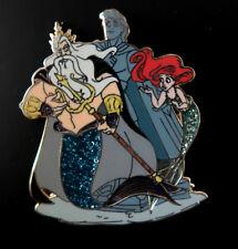 DISNEY DESIGNER ARIEL & KING TRITON LE 1000 PIN The Little Mermaid ERIC D23 Expo