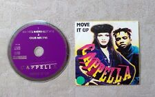 """CD AUDIO MUSIQUE / CAPPELLA """"MOVE IT UP"""" 2T CD SINGLE 1994 CARDSLEEVE EURO HOUSE"""