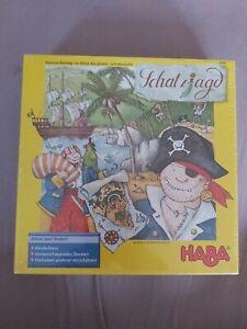 HABA Spiel Schatzjagd 4444  Neu 7-99 Jahre 2-4 Spieler OPV ungeöffnet