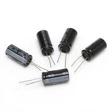 5Pcs 16x30mm 4700uF 25V Radial Electrolytic Capacitor -40 105°C Dimension