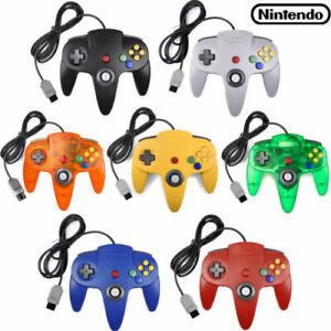 1-2Pcs N64 Controller Joystick Gamepad Long Wired for Nintendo 64 Console Games*