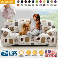 1 2 3 Seater Sofa Cover Slipcover Stretch Elastic Couch Home Furniture Protector