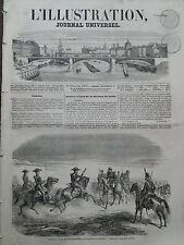 L' ILLUSTRATION 1856 N 693 RECEPTION A LYON OF THE DIVISION OF FAILLY