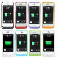 2200 mAh para iPhone 5/ 5S/ 5C Externo Cargador De Batería de Respaldo Estuche