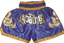 Muay Thai Shorts Kickbox Hose K1 Thai Box Shorts New Top Style 100% Satin Gr.M-L
