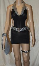 """US Seller NEW Sexy 1920""""s Gangster Costume S M FREE SHIPPING"""