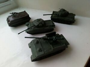 Airfix Poly x 4 Tanks  HO/OO scale military model vehicles