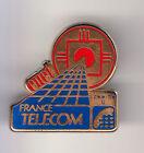 RARE PINS PIN'S .. PTT LA POSTE FRANCE TELECOM CNET ROUGE & BLEU LANNION 22 ~BW