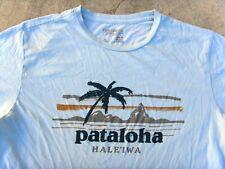 Pataloha HALE'IWA Patagonia Organic cotton T-shirt Men's M light blue